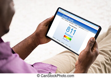 African American Online Credit Score Report