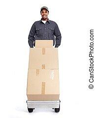 African-American postman. - African-American postman ...