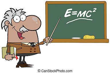 African American Professor - Happy Black Professor...