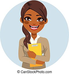 African American Secretary