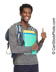 African American student.