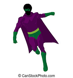 African American Super Hero - African american super hero...