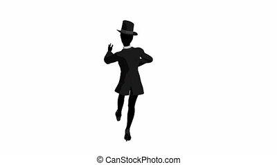 African American Tap Dancer - African american tap dancer...