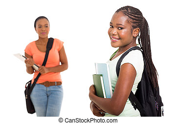 african american university student portrait