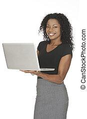 African American Woman - Beautiful African American...