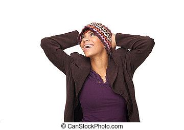 African American Woman Joy