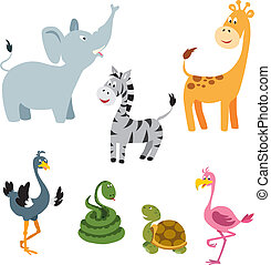 African Animals set 1