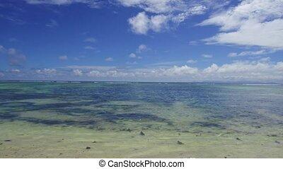 african beach in indian ocean