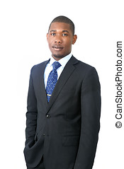 African businessman