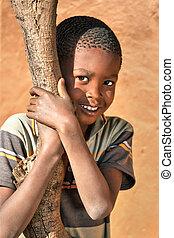 African child portrait