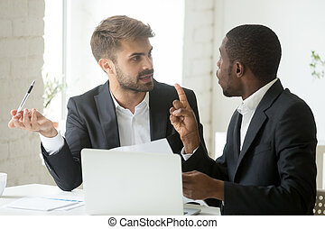 African client having claims about document disagreeing with cau