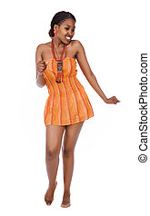 African dancer