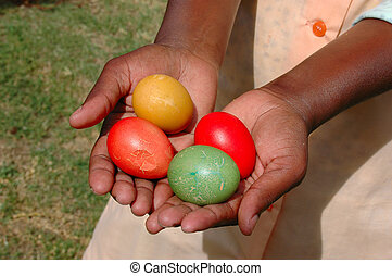 African Easter eggs