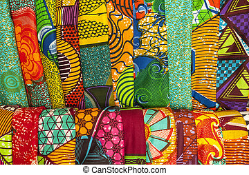 African fabrics from Ghana, West Africa - African...