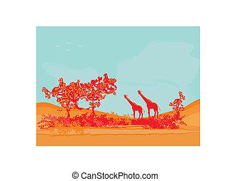 African fauna and flora