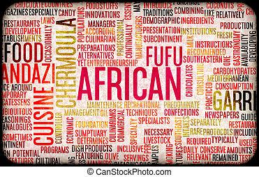African Food Menu