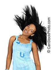 African hair beauty