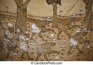 African handicraft