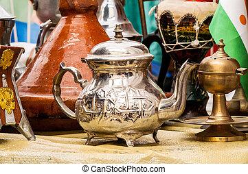 African iron kettle