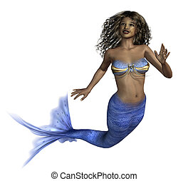 African Mermaid