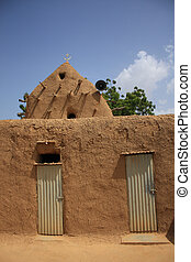 African mosque