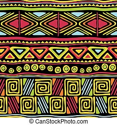 african seamless ornament