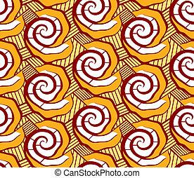 African seamless pattern - Malian seamless dress pattern in...