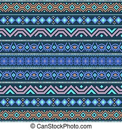 African seamless with adinkra symbols. Antique pattern...