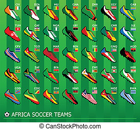 African soccer teams