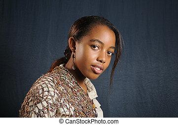 African teen fashion