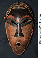 African Tribal Mask - Pende Tribe - African Tribal Wooden...