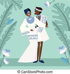 African wedding image