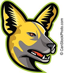 african-wild-dog-head-side-mascot