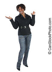 African woman Businesswoman smiling