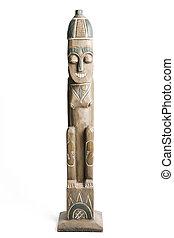 African Wooden Statue