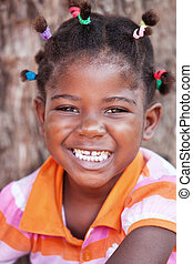 africano, criança