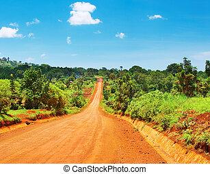 africano, estrada