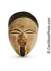 africano, máscara