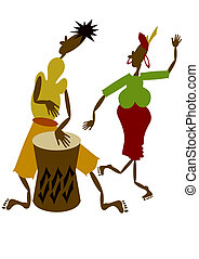 africano, músicos