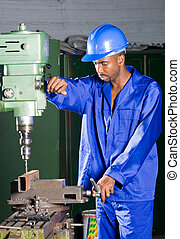 africano, mecánico
