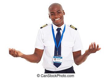 africano, piloto