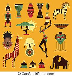 afrika, ikonok
