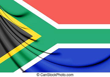 afrika., svg, zuiden, vlag