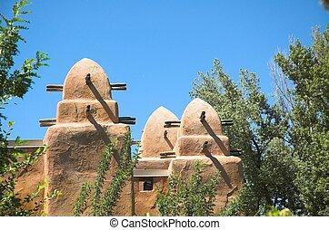 afrikaan, architectuur