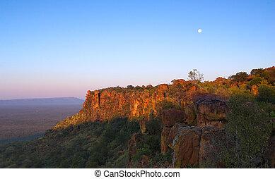 afrikaan, landscape