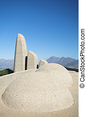 Afrikaans Language Monument in South Africa