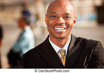 afrikaanse amerikaan, zakenman