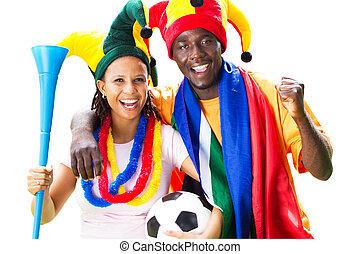 afrikai, futball, pajzstartók