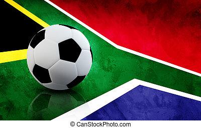 afrikai, világ, futball, déli, csésze