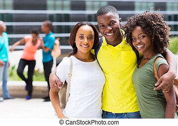 afrikanisch, hochschule, friends